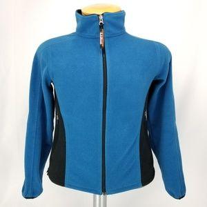 LL Bean Womens Small Regular Fleece Lining Jacket